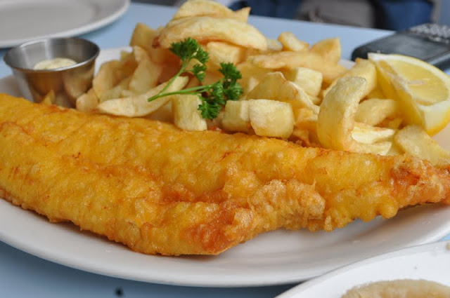 Poppies+Fish+and+Chips+Spitalfields+review+Haddock+and+Chips