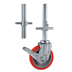 Attrayant Above Screw Tube Scaffold Caster Wheels,allow Height Adjustable. User Can  Adjust The Scaffold Rack Working Height By Change The Scaffold Caster  Wheels Nut ...