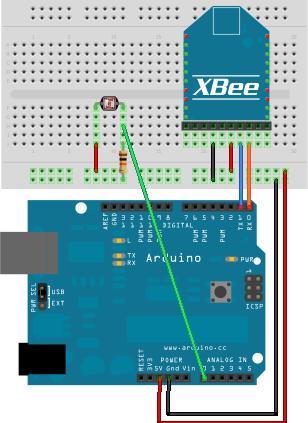 xbee wiring diagrams akros arduino    xbee    pachube sensor network  akros arduino    xbee    pachube sensor network