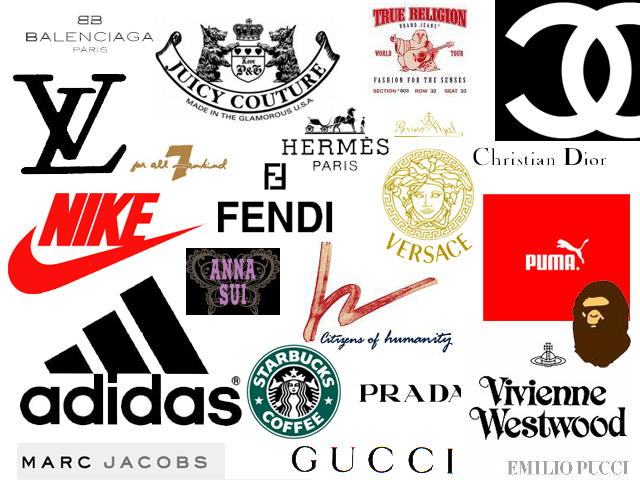clothing logos clothing company logos clothing brands fashion logo    Fashion And Clothing Logos And Names