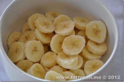 وصفة كاسات الموز والفانيلا بودينج من www.fattoush.me