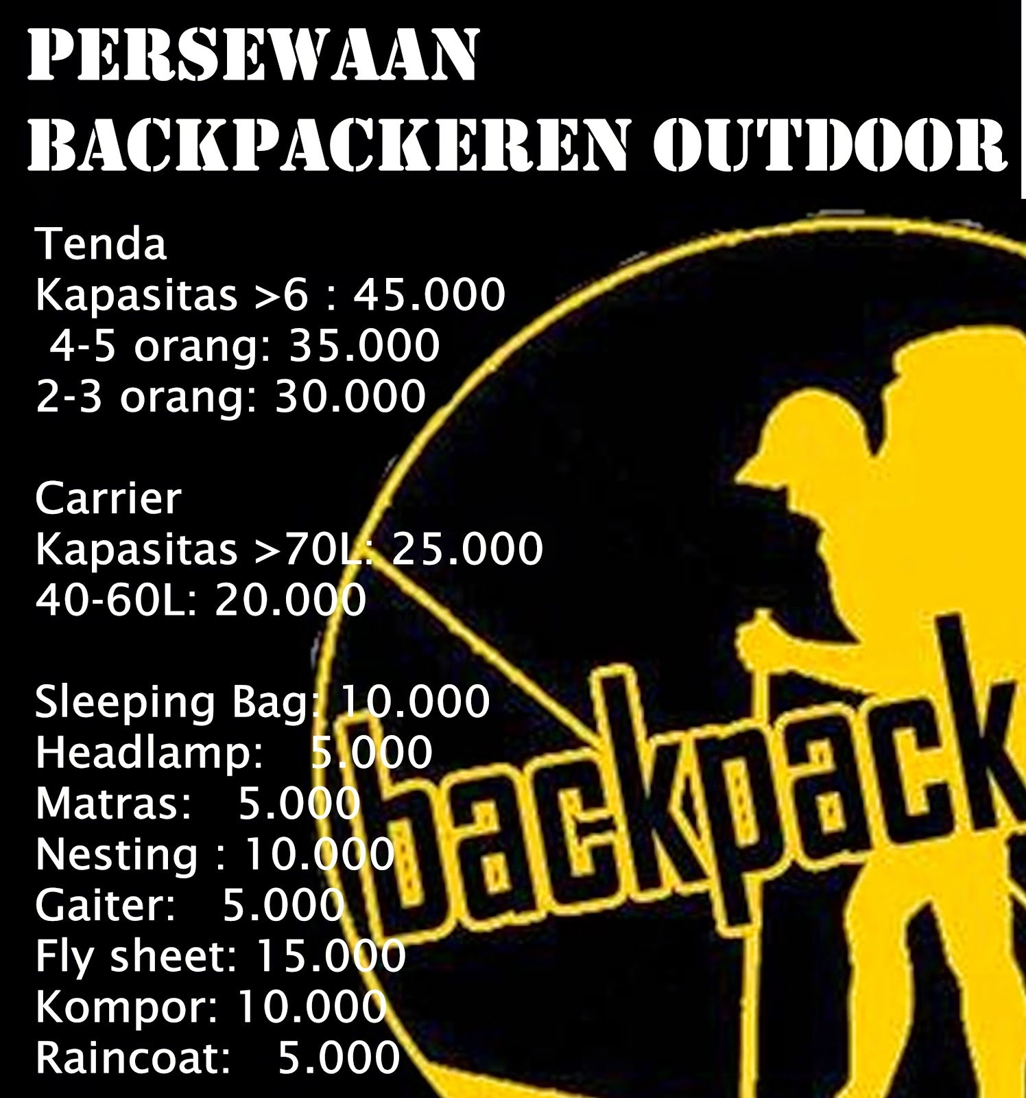 Backpackerent