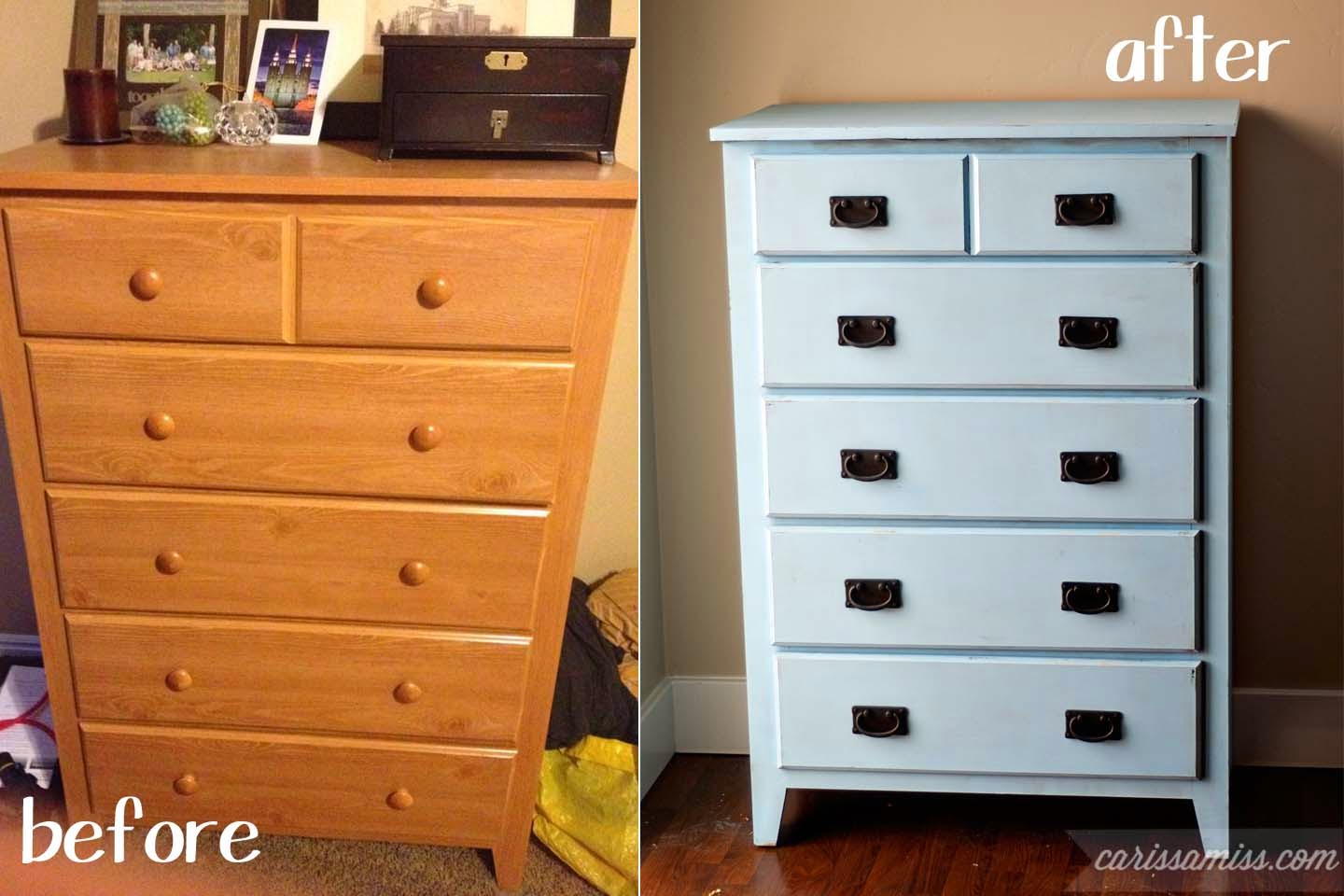 Carissa Miss: Mission Style Dresser transformation