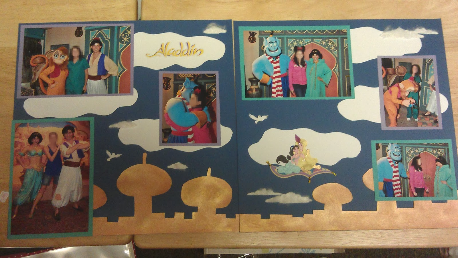How to add scrapbook pages - Aladdin Scrapbook Pages