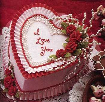 Freelove  Pictures on Birthday Greeting Cards  I Love You With A Cake