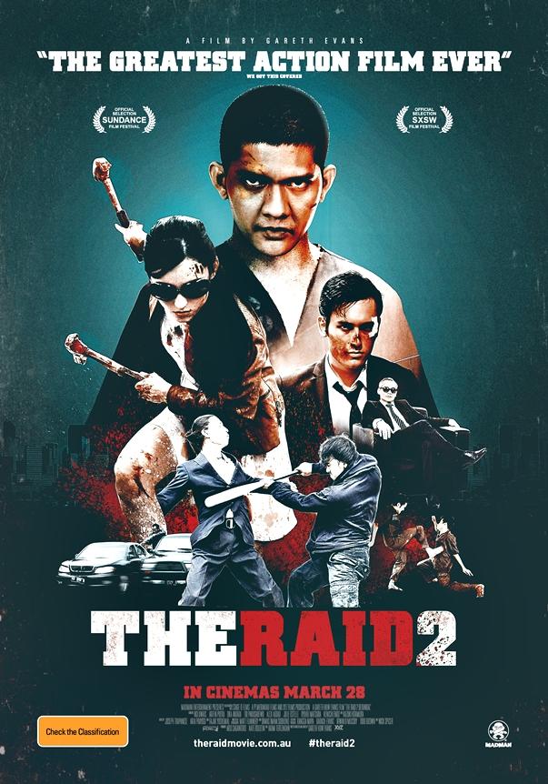 Póster The Raid 2: Berandal