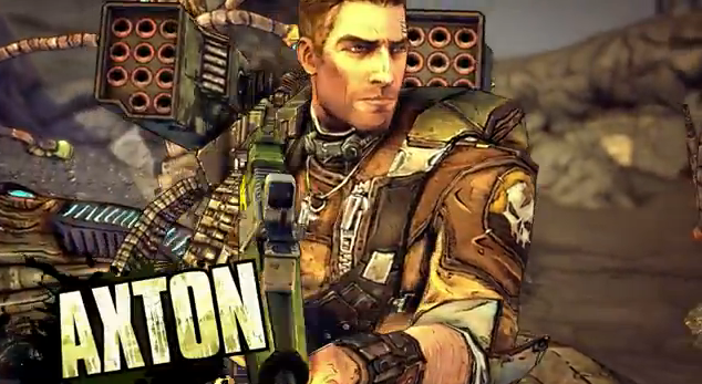 Borderlands 2 New Playable Character Axton