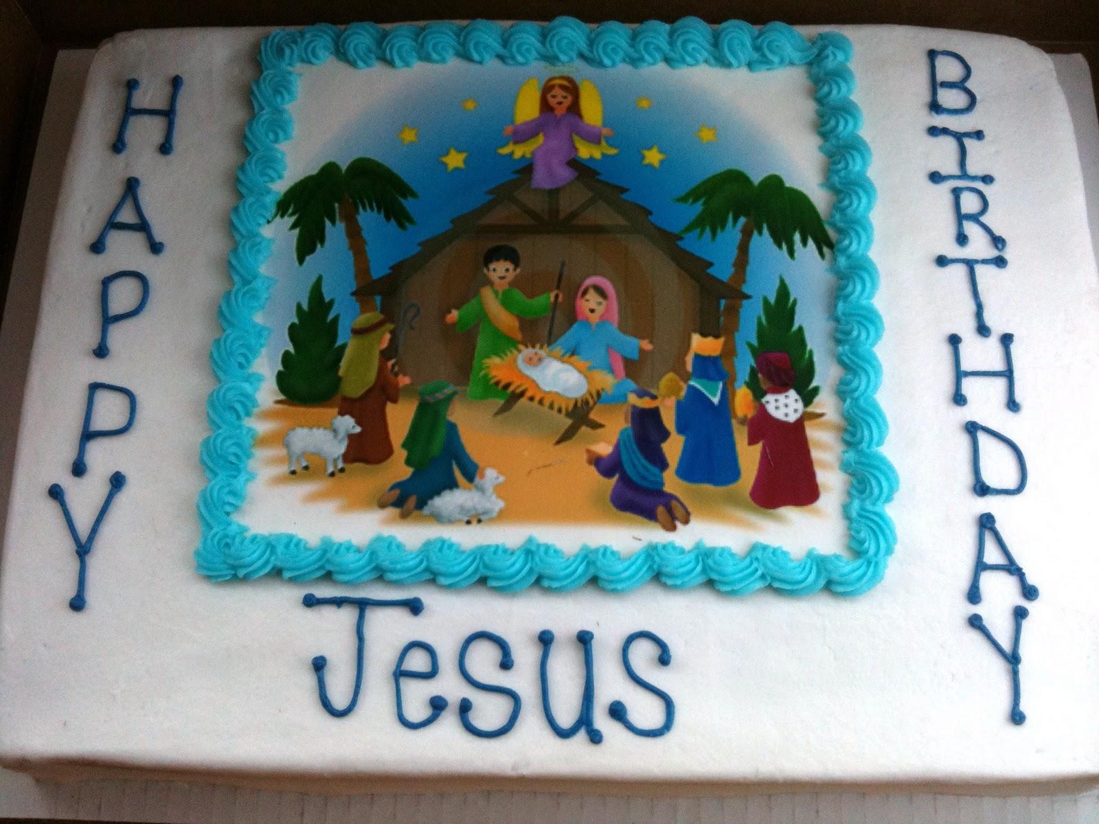 Michele Robinson Cakes Happy Birthday Jesus Cake