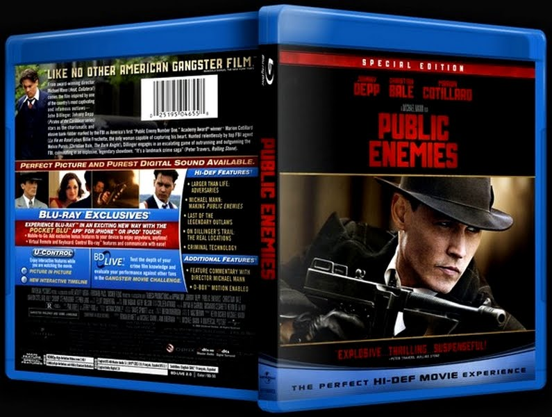 public enemies the story of john Watch public enemies online public enemies full movie with english subtitle this is the story of the last few years of the notorious bank robber john dillinger.