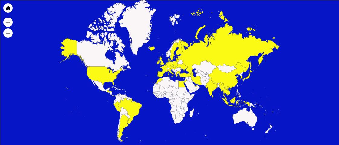 Países Recorridos