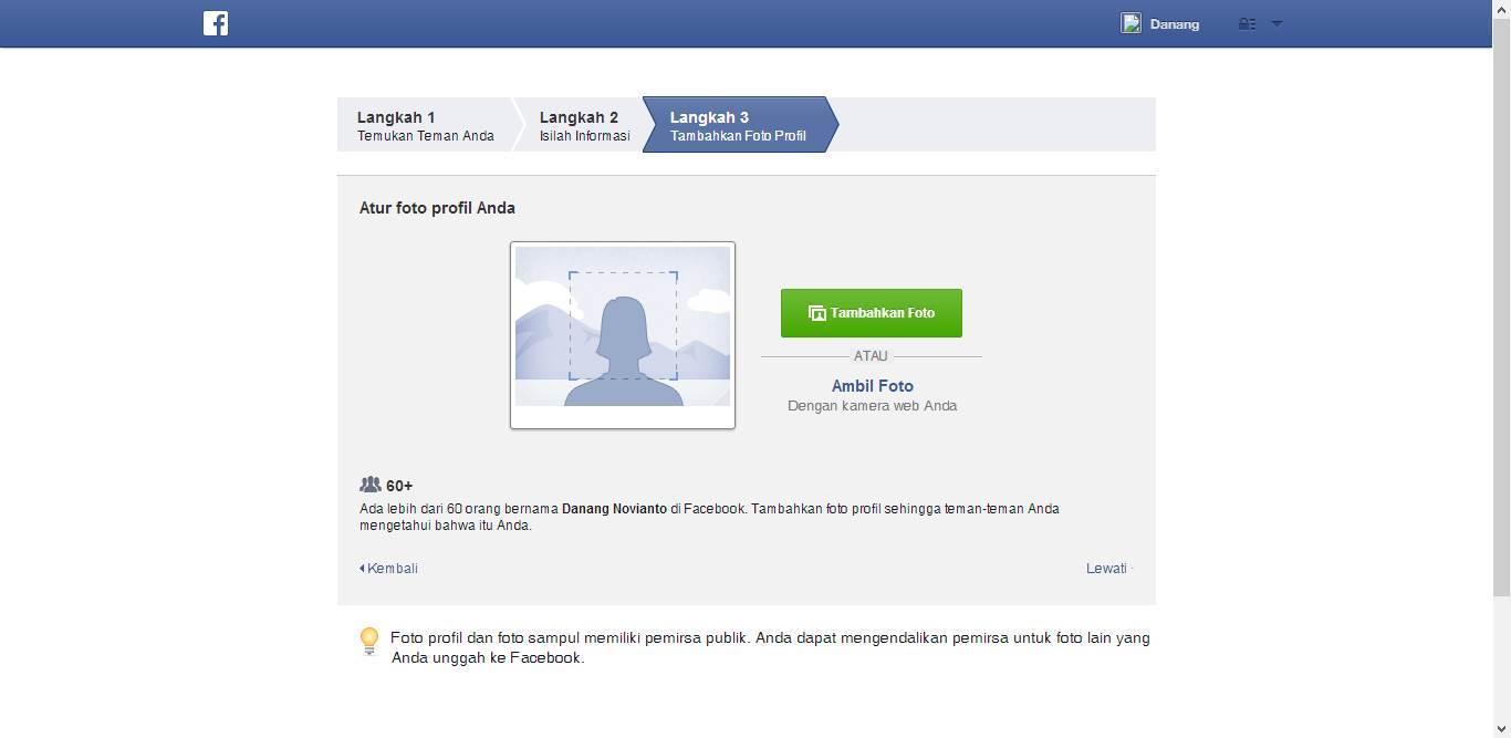 Cara Daftar Facebook Untuk Membuat Akun Baru