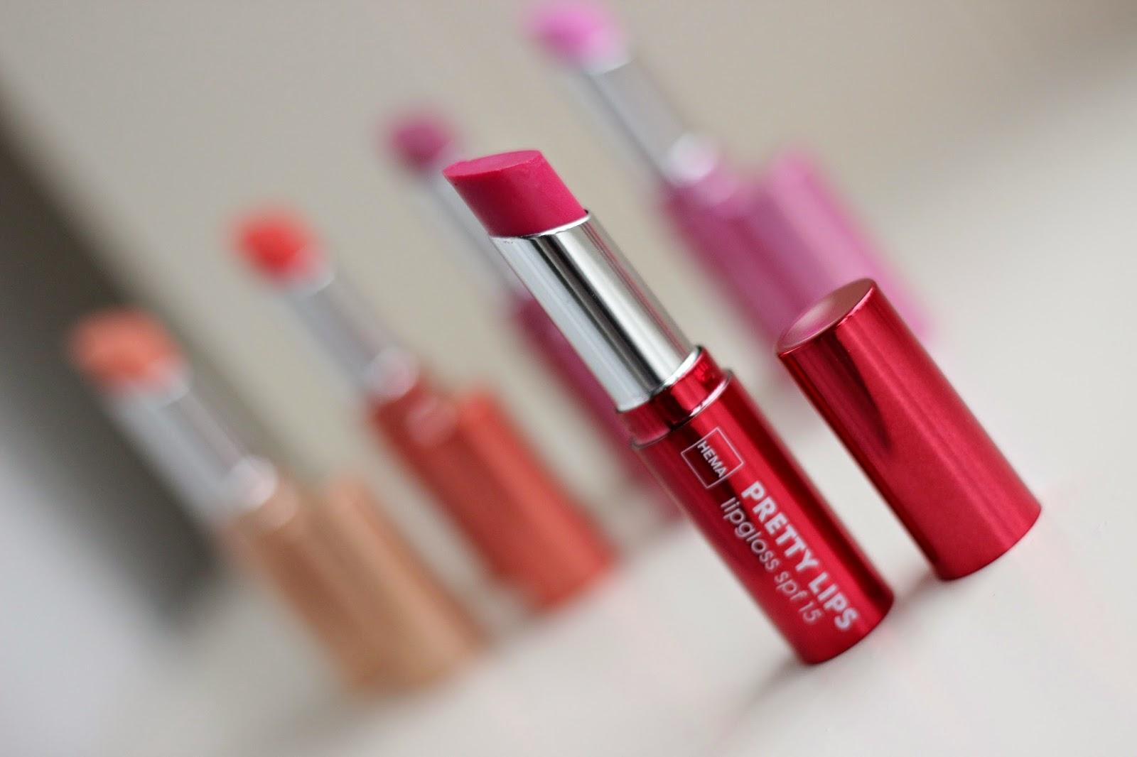 hema pretty lips lipgloss peony fuchsia