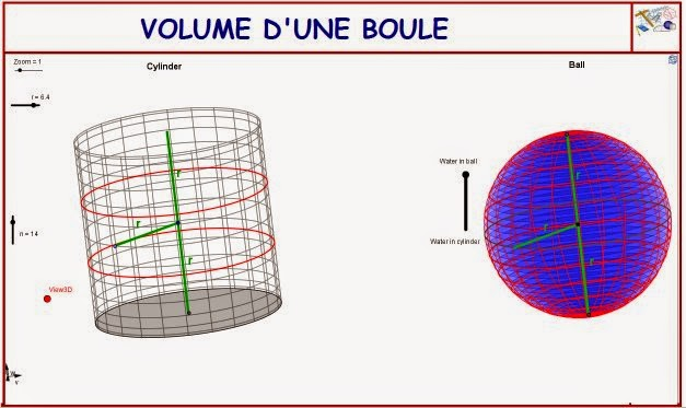 http://dmentrard.free.fr/GEOGEBRA/Maths/Nouveautes/4.25/VolsphercylinMD.html