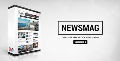 Download Newsmag v2.0 Themeforest Magazine Newspaper Wordpress Theme