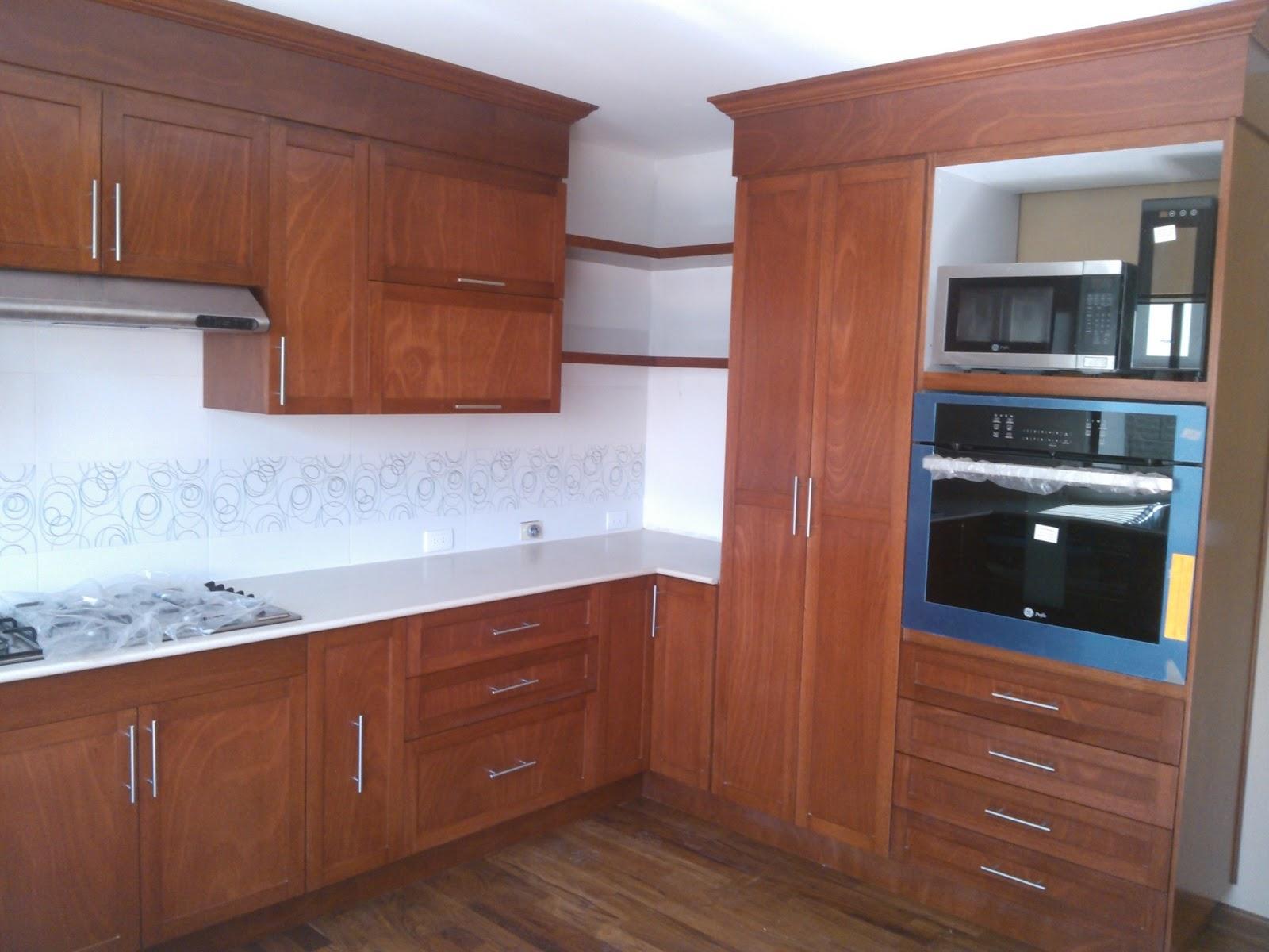 Cocinas integrales vestidores closets etc cocinas varias for Gabinetes cocina integral