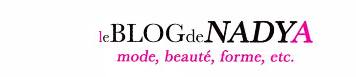 Le blog de Nadya