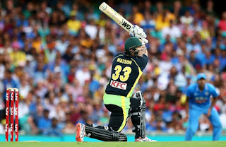 Shane Watson made his Debut Century in t20