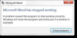 pesan microsoft word tidak bisa dibuka