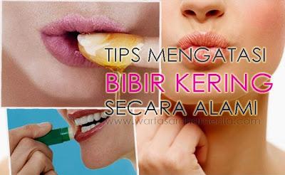 Menjaga Bibir Agar Tidak Kering
