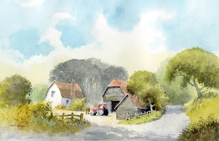Farm near Shere, Surrey