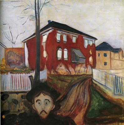 Red Virginia Creeper 1898-1900.Munch Museet, Norway
