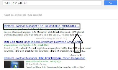 find,serial,IDM,google