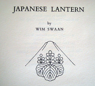 Japanese Lantern, Wim Swaan