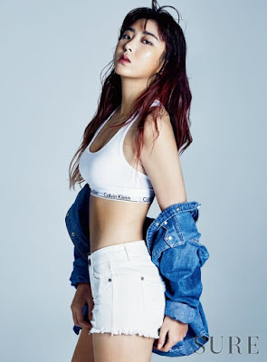 Sohyun 4minute Sure February 2016