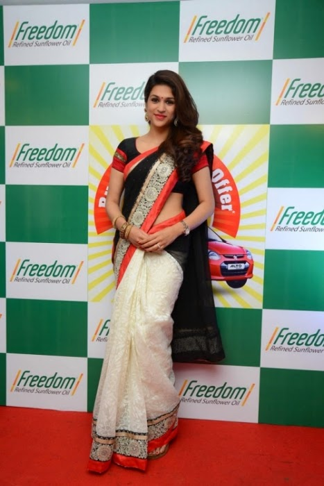 Shraddha Das In Saree For Latest Event Images