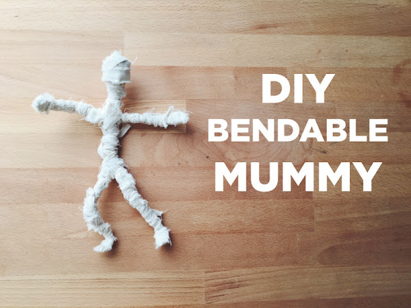DIY Bendable Mummy