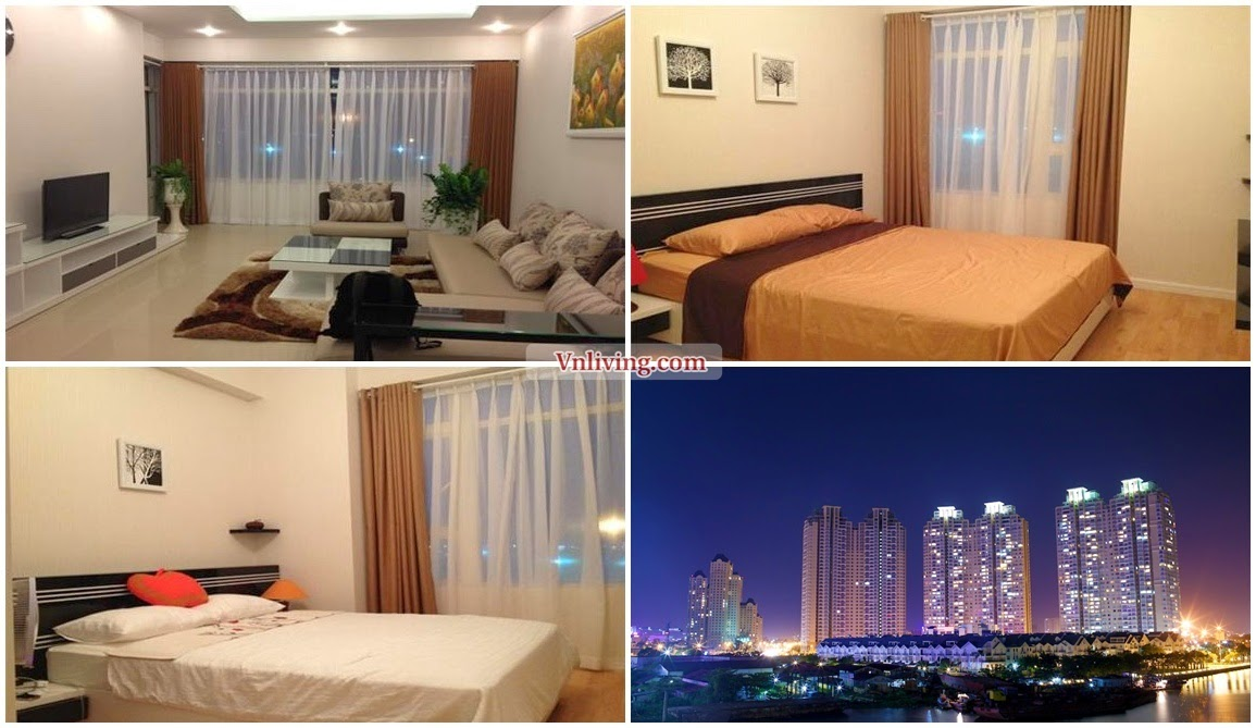 Saigon Pearl apartment for rent at Topaz Tower