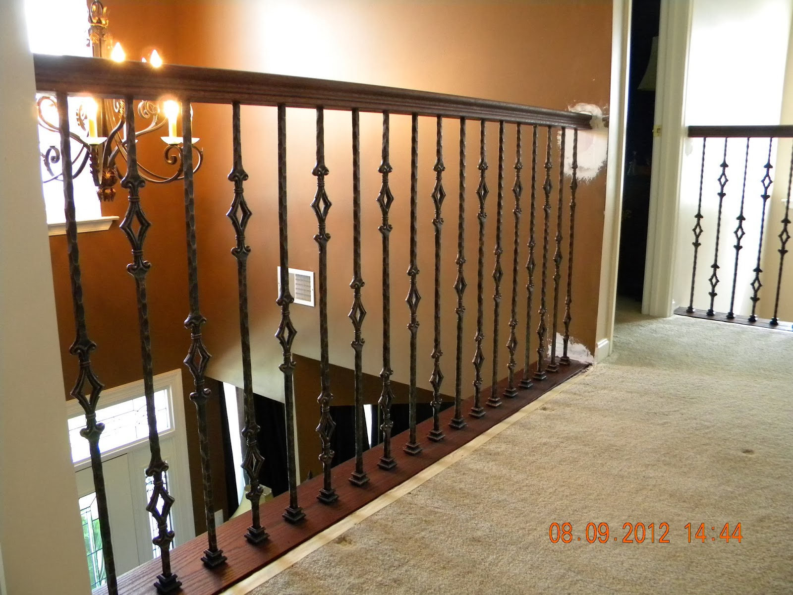 100 iron pickets for stairs individual iron