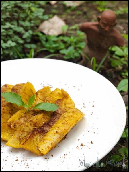 Image of breadfruit wedges