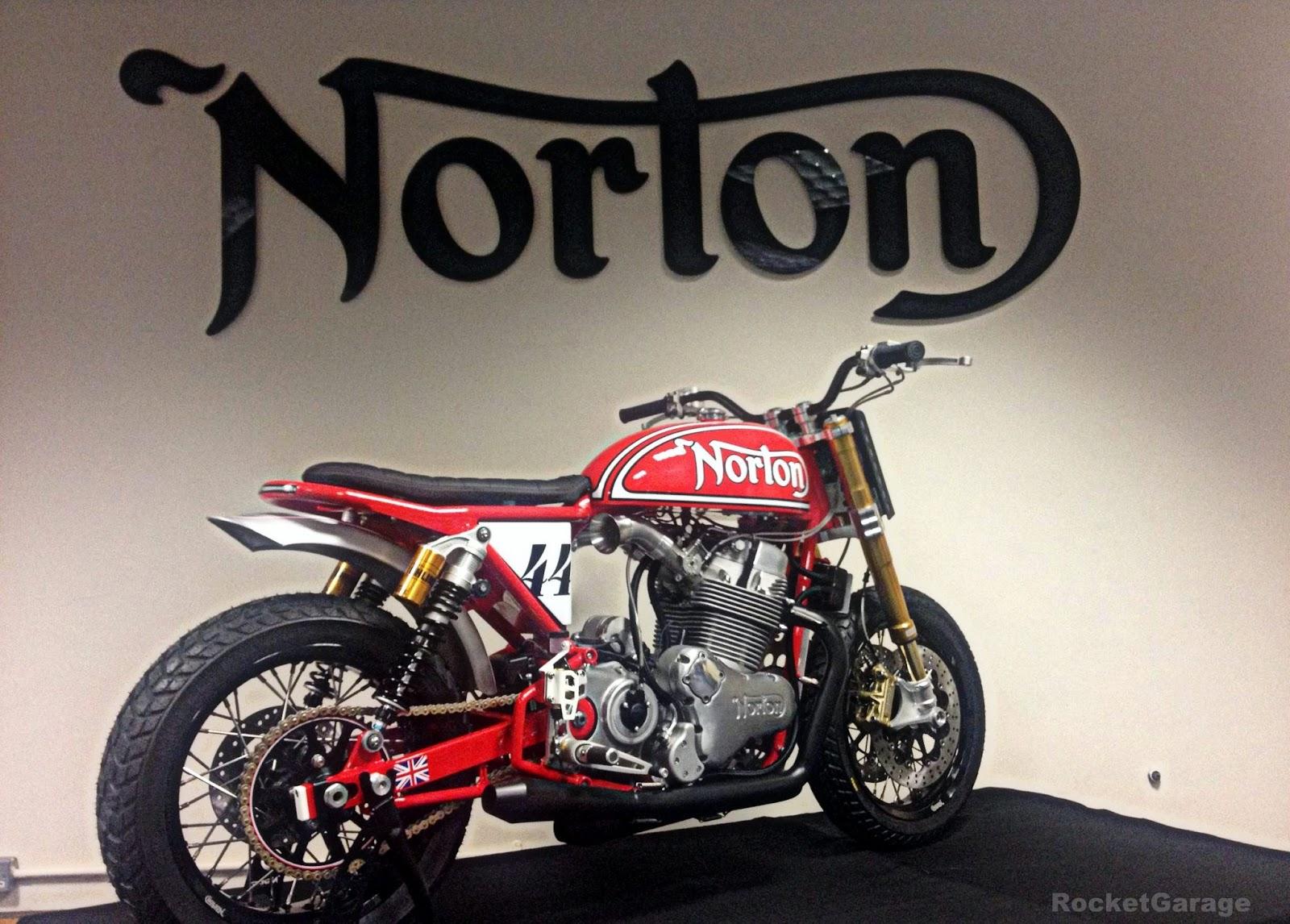 Indian Motorcycles 2015 >> Norton 961 MM Flat Track - RocketGarage - Cafe Racer Magazine