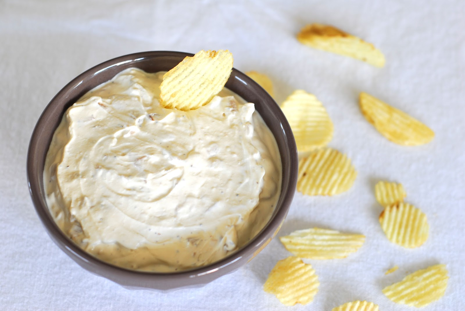 Lays Potato Chips or Ruffles and Dean's French Onion Dip go well with ...