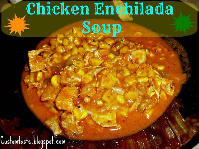 Chicken Enchilada Soup by Custom Taste