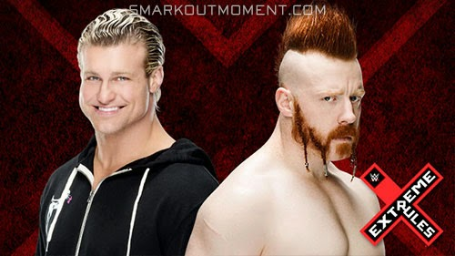 Dolph Ziggler Kiss Me Arse Sheamus Extreme Rules 2015 PPV