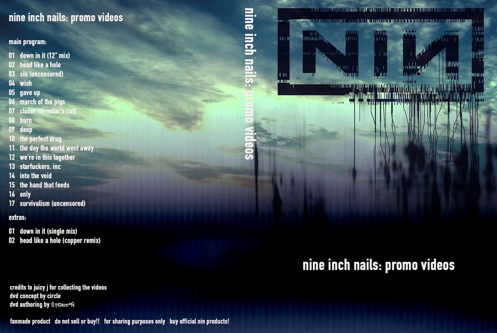 Nine Inch Nails Promo Videos Dvd