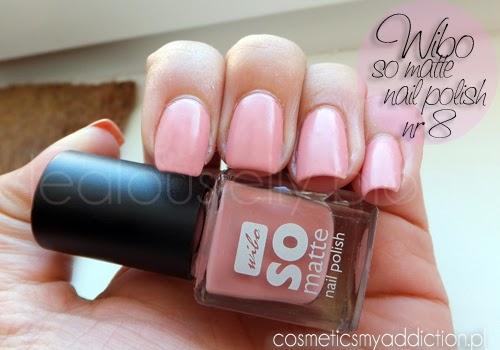 Wibo, so matte nail polish nr 8