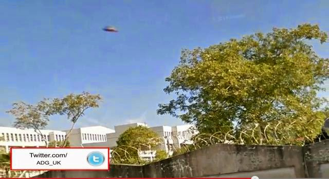 Ufo caught by google earth 2014 in taiwan