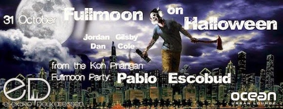 pablo escobud full moon party ocean bangkok