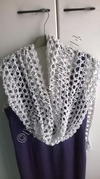 Una Stola Per Le Fresche Serate Estive ஜ Magie E Passioni Crochet