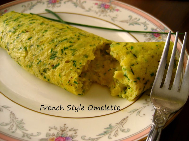Home Cooking In Montana: French Style Omelette... with herbs and ...