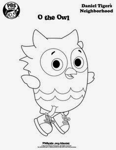 Daniel tiger 39 s neighborhood coloring child coloring for Daniel tiger coloring pages