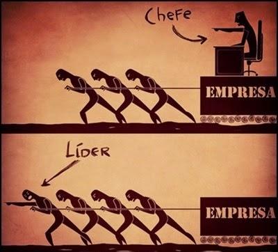 É o seu exemplo que vale.