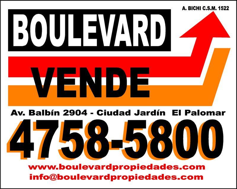David publicidad letrero inmobiliaria boulevard for Boulevard inmobiliaria ciudad jardin