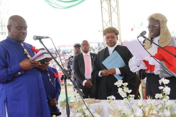 Nyesom Wike Sworn in as Governor of Rivers State + Pictures chiomaandy.com