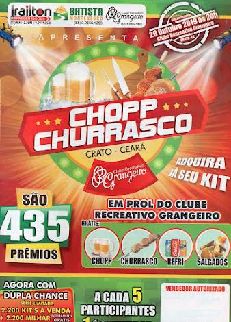 O CLUBE RECREATIVO GRANGEIRO - LANÇA SEU SEGUNDO SHOW DE PRÊMIOS COM 435 PRÊMIOS