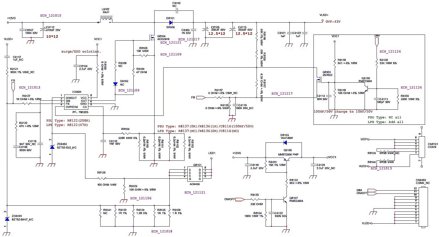 Electro Help 07 11 15 Sub 150w 8ohm Subwoofer Amplifier Circuit Board 35 150hz 2sa1943 Le39d1440 Smps Led Driver Diagram