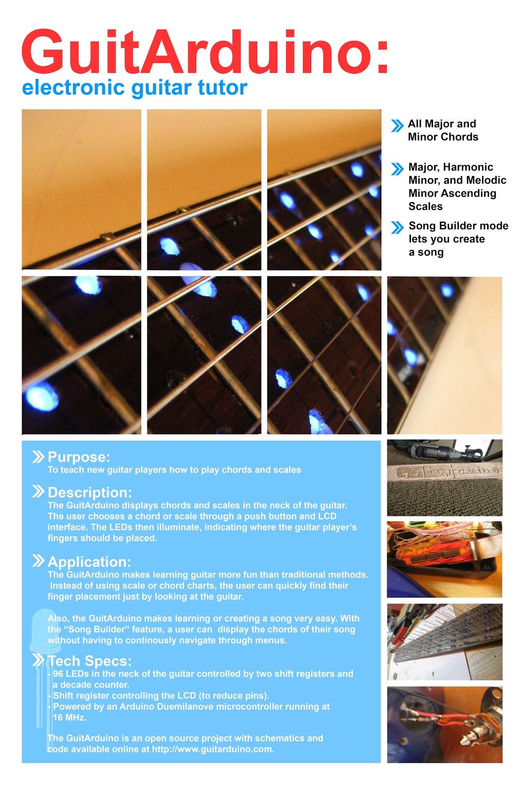 Printed Circuit Board Guitar Pickup - Guitarduino 2.0 Update ...